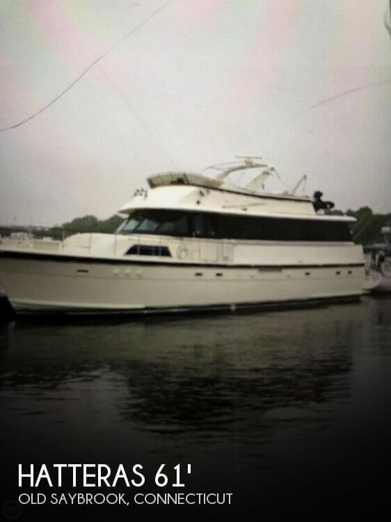 1982 Hatteras 61 Motoryacht
