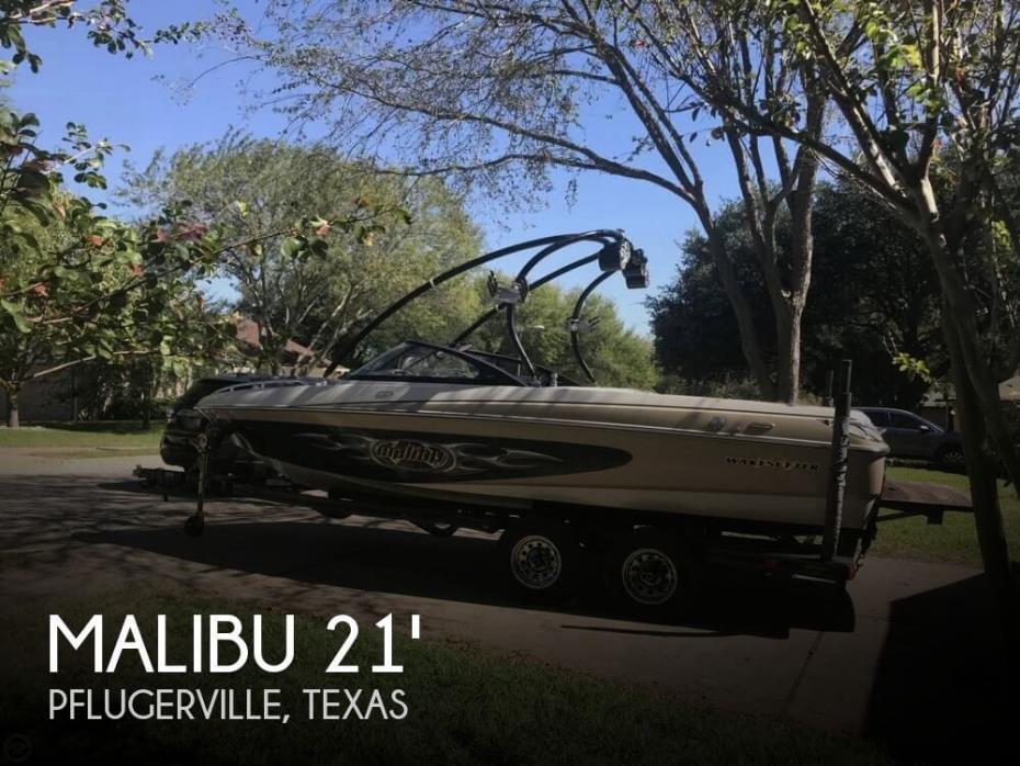 2005 Malibu 21 Wakesetter XTi