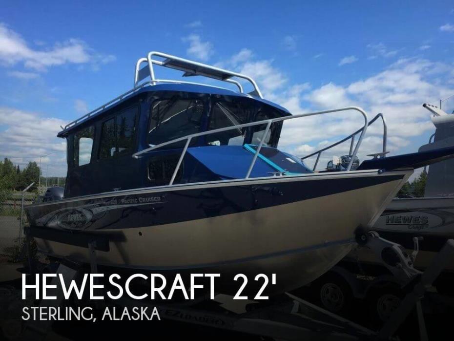 2016 Hewescraft 220 Pacific Cruiser ET