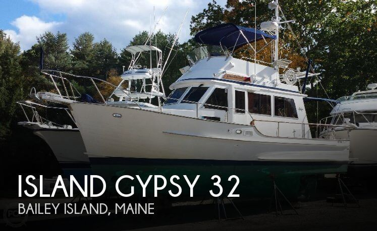 1994 Island Gypsy 32 Sedan Trawler