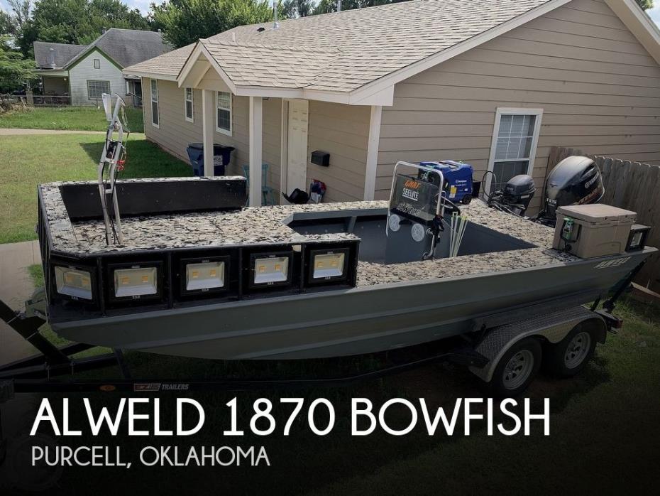 2020 Alweld 1870 Bowfish