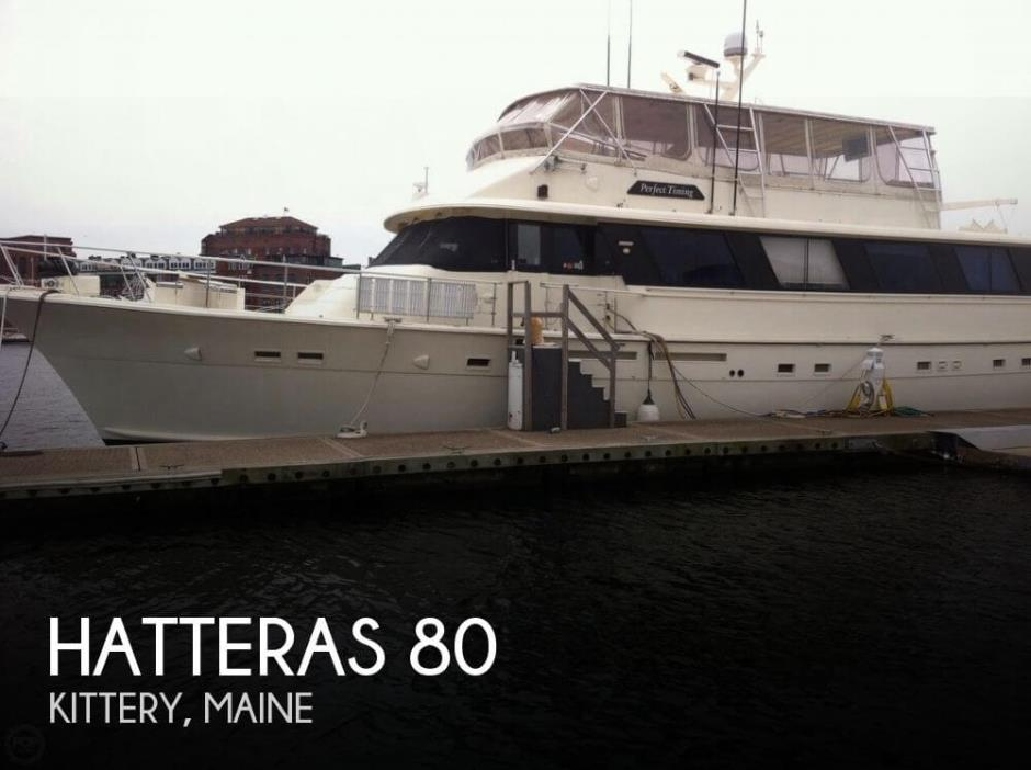 1985 Hatteras 90 CPMY