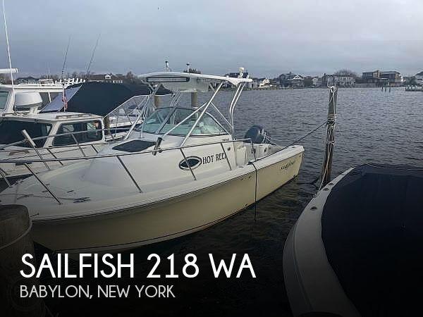 2007 Sailfish 218 WA