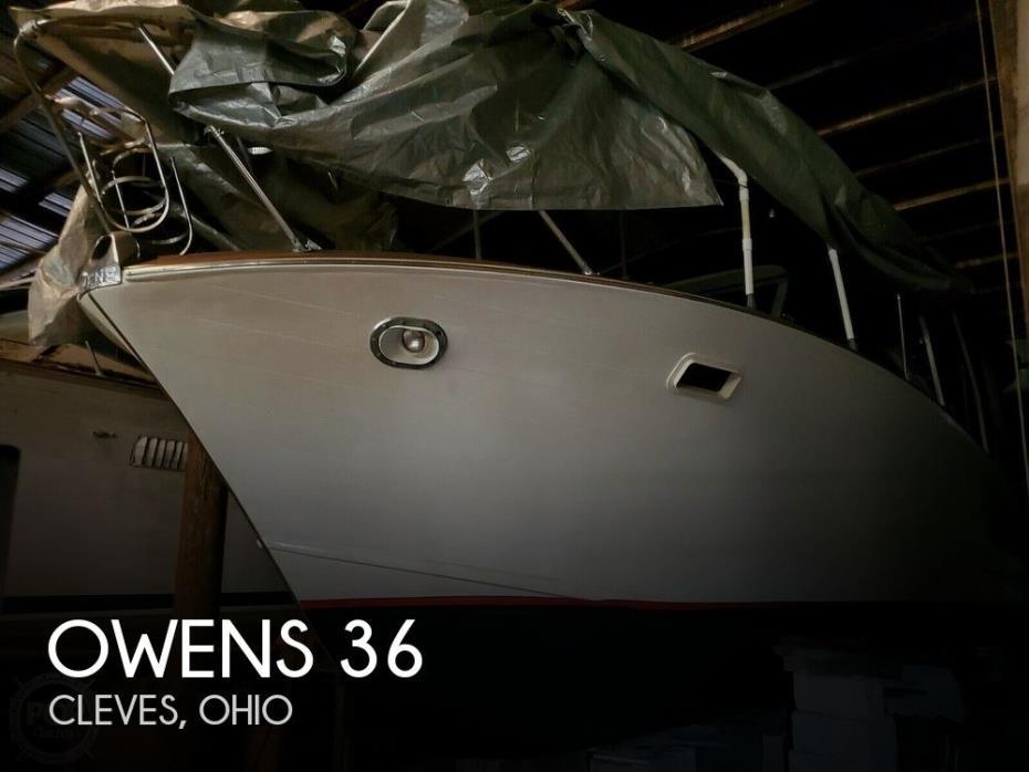 1963 Owens 36 Express