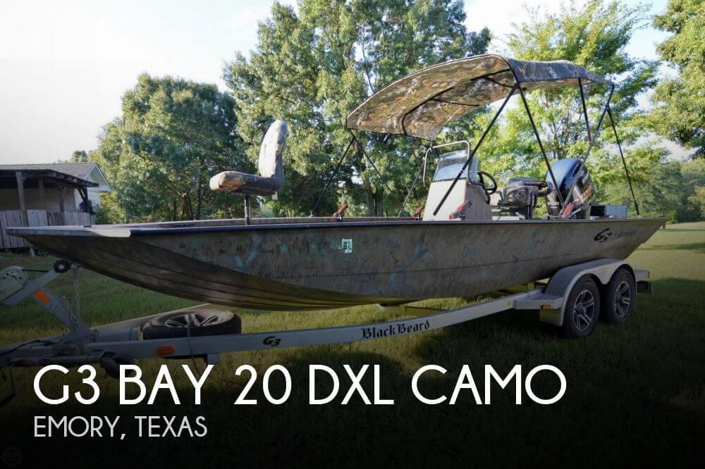 2014 G3 Bay 20 DLX Camo