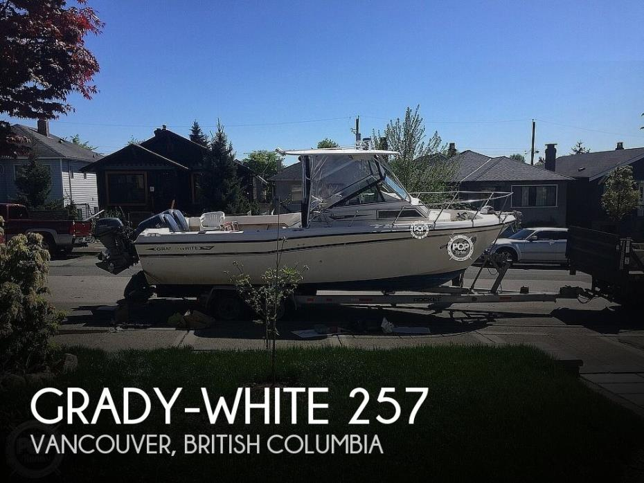 1984 Grady-White 257 Trophy