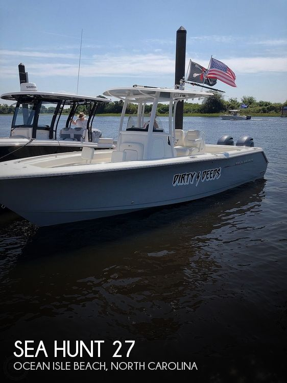 2013 Sea Hunt 27 Game Fish