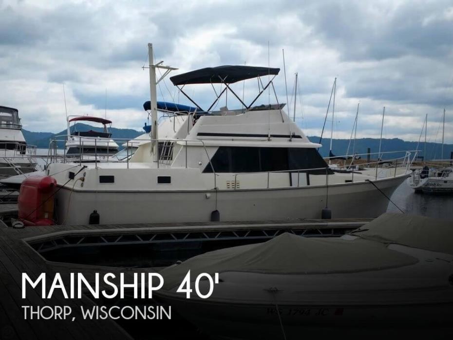 1987 Mainship 40 Nantucket