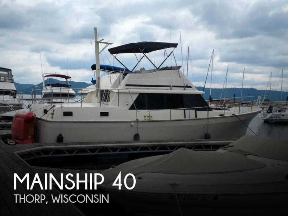 1987 Mainship 40