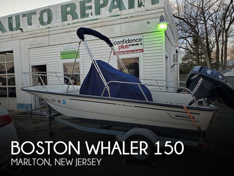 2008 Boston Whaler 150 Montauk