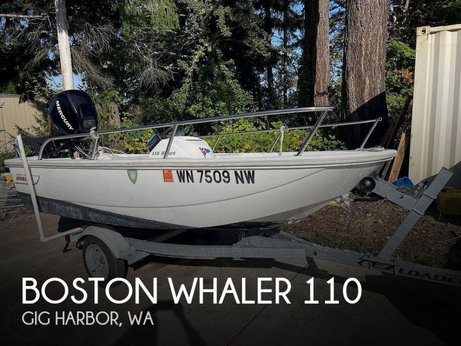 2008 Boston Whaler 110 sport