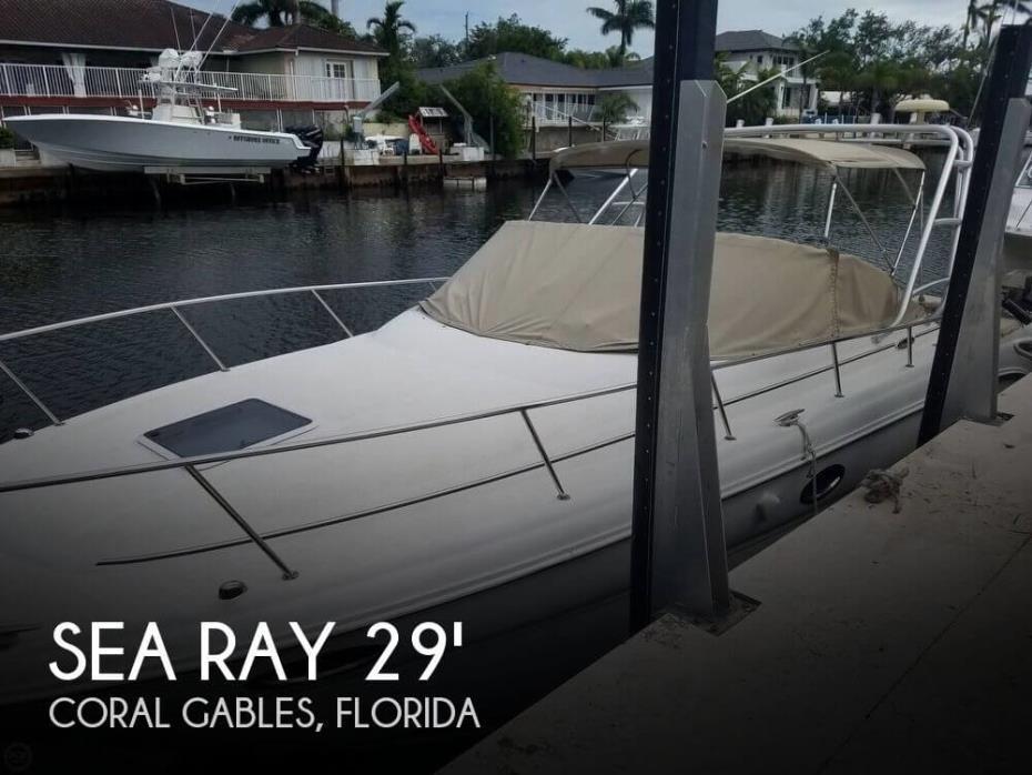 2002 Sea Ray 290 Amberjack