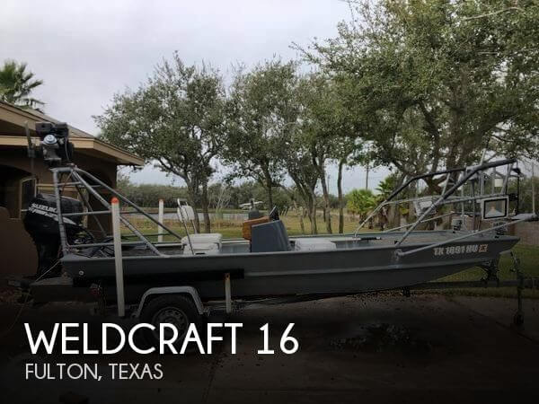 1997 Weldcraft 1656 CDL