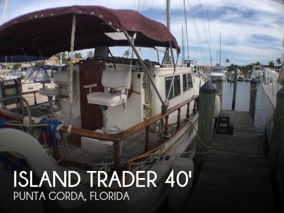 1982 Island Trader MotorSailor 40