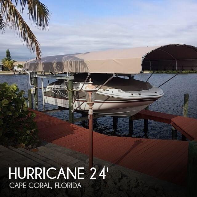 2014 Hurricane 2400 Sun Deck