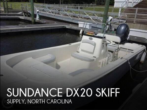 2016 Sundance DX20 Skiff