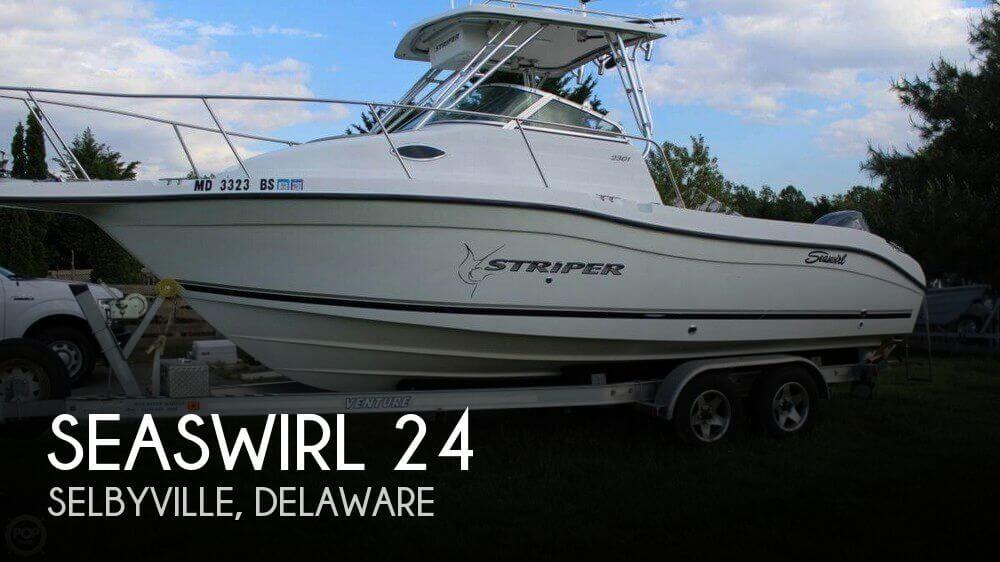 2002 Seaswirl 2301 Striper