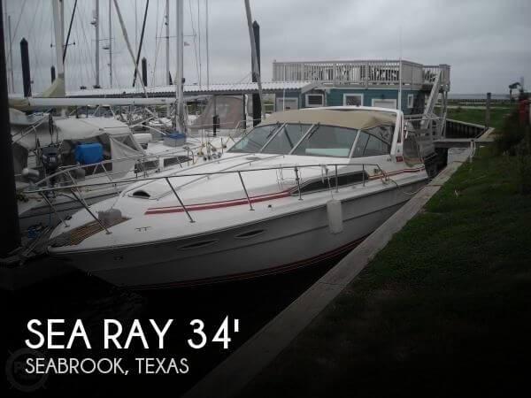 1989 Sea Ray 340 Sundancer
