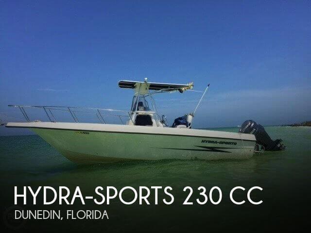 2002 Hydra-Sports 230 CC