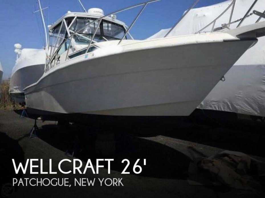 1992 Wellcraft 2600 Coastal