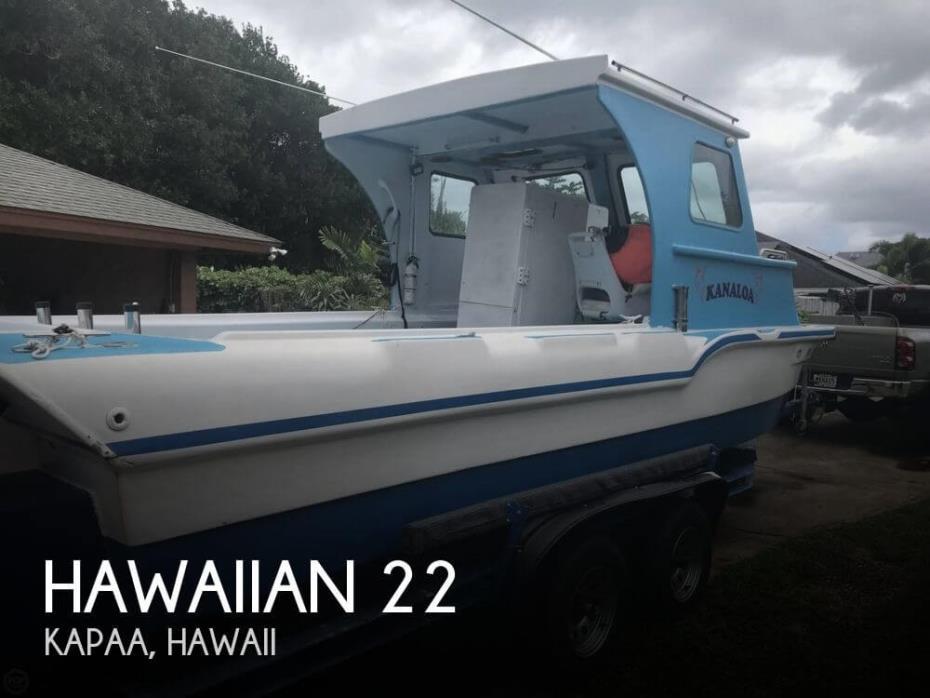 1964 Hawaiian 22 Tri-hull
