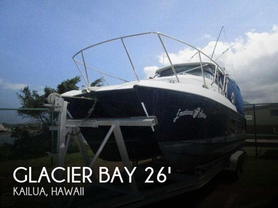 2007 Glacier Bay Isle Runner Blue Hull 2670