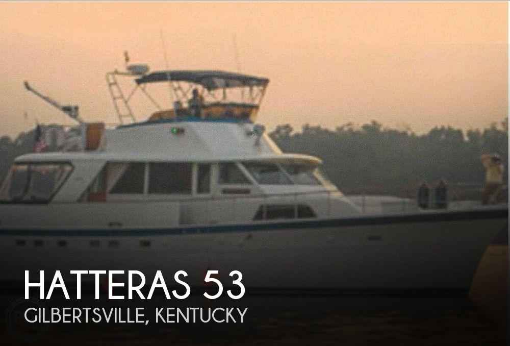 1977 Hatteras 53