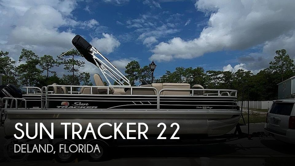 2020 Sun Tracker Fishin Barge 22 DLX