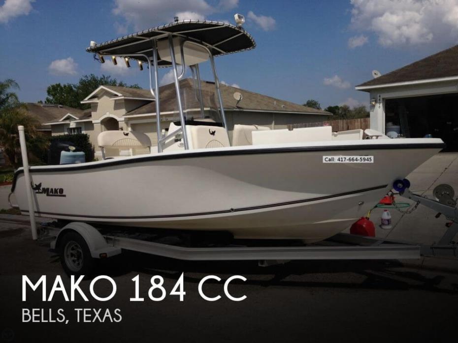 2010 Mako 184 CC