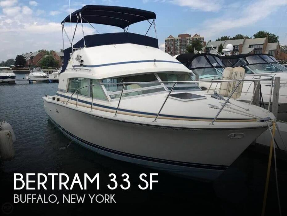 1986 Bertram 33 SF