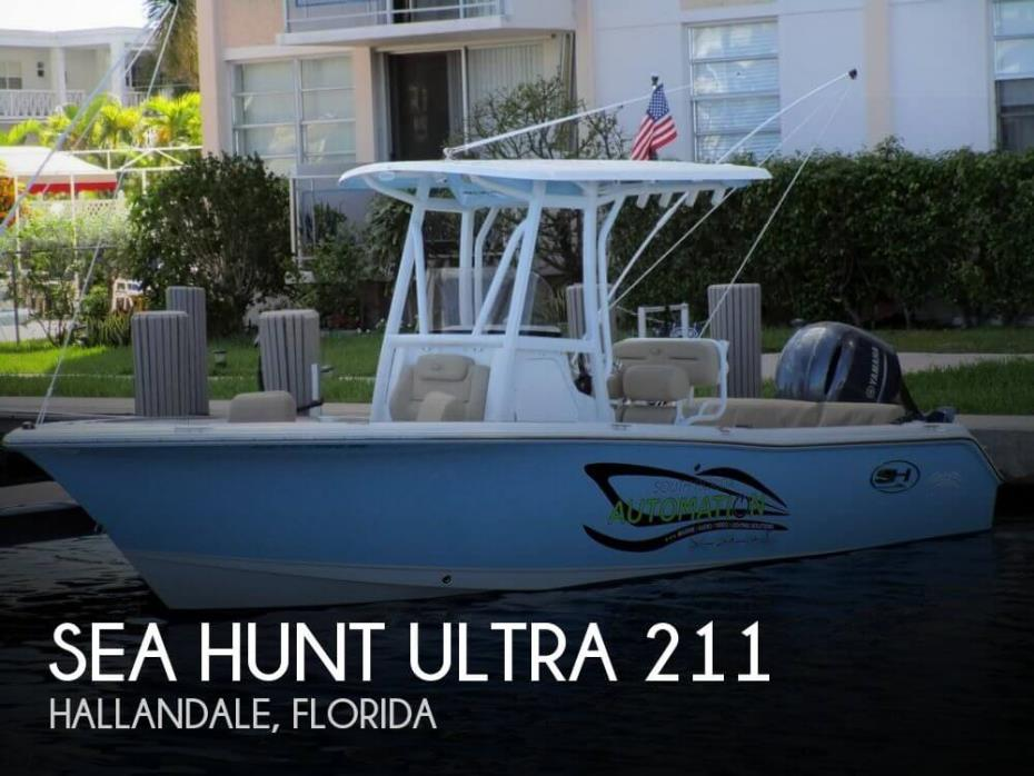 2017 Sea Hunt Ultra 211