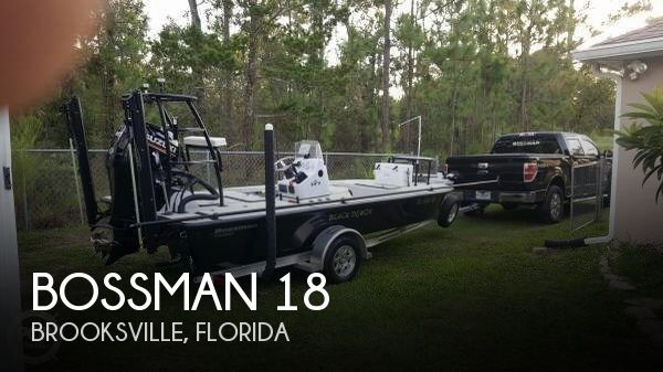 2018 Bossman 18 Skimmer