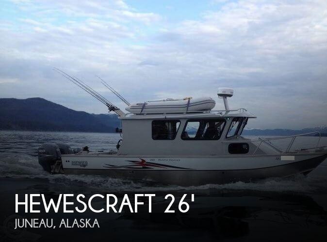 2011 Hewescraft 260 Pacific Cruiser