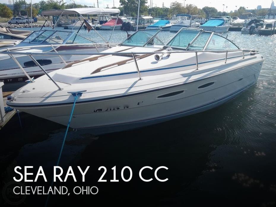 1984 Sea Ray 210 CC