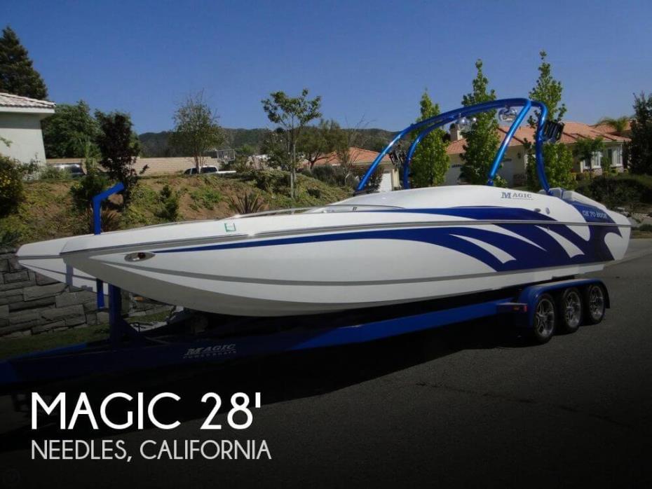 2009 Magic 28 Scepter Open Bow