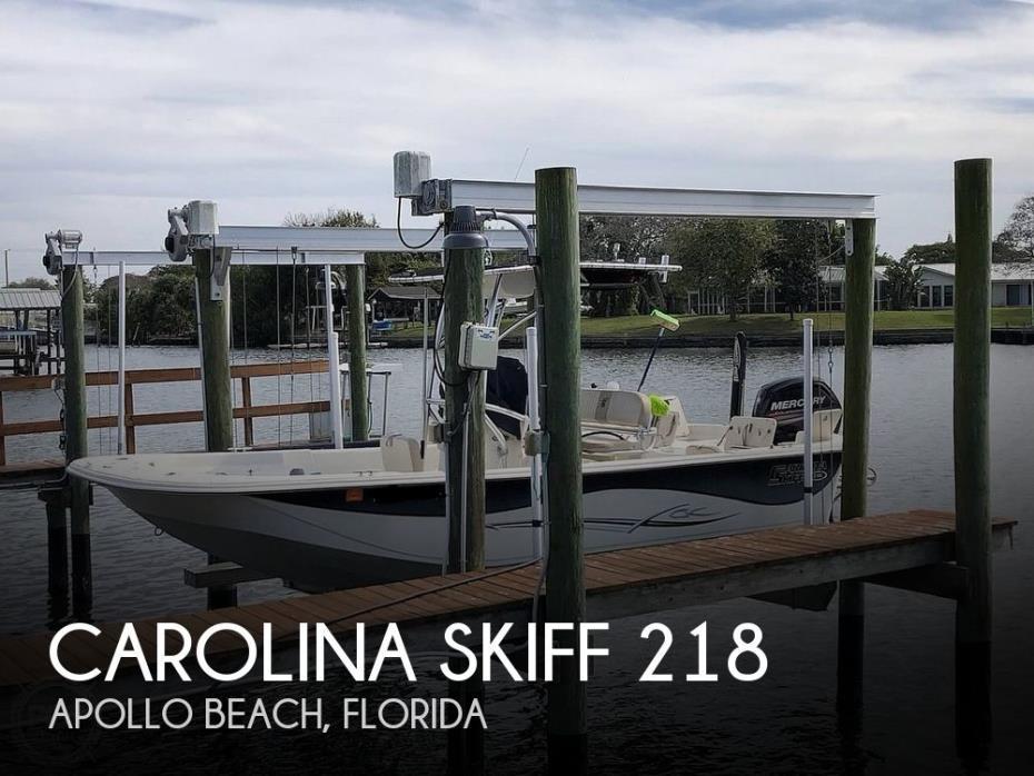 2015 Carolina Skiff 218 DLV