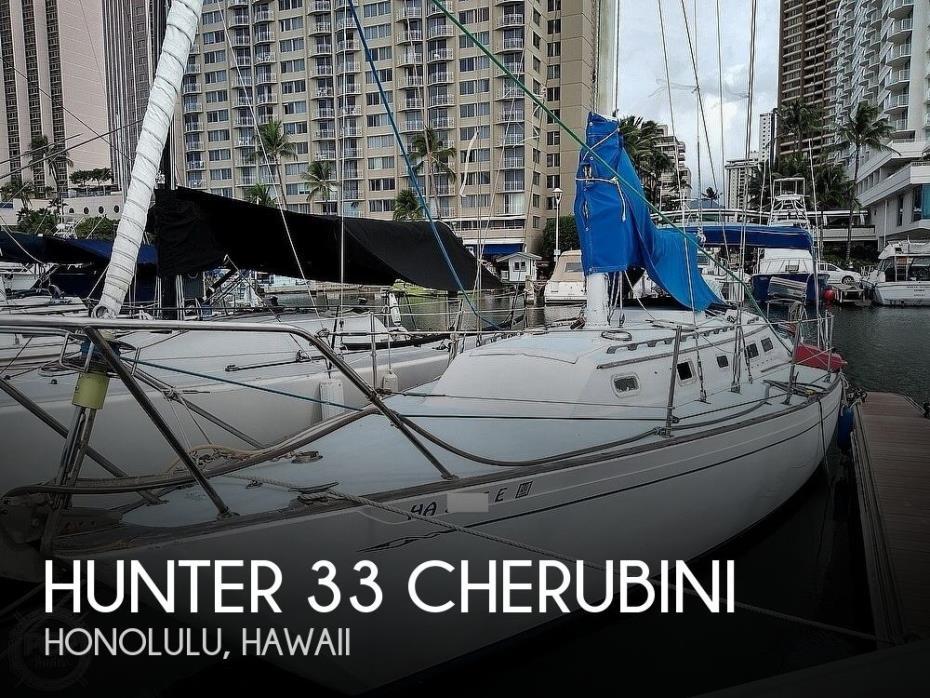 1980 Hunter 33 Cherubini