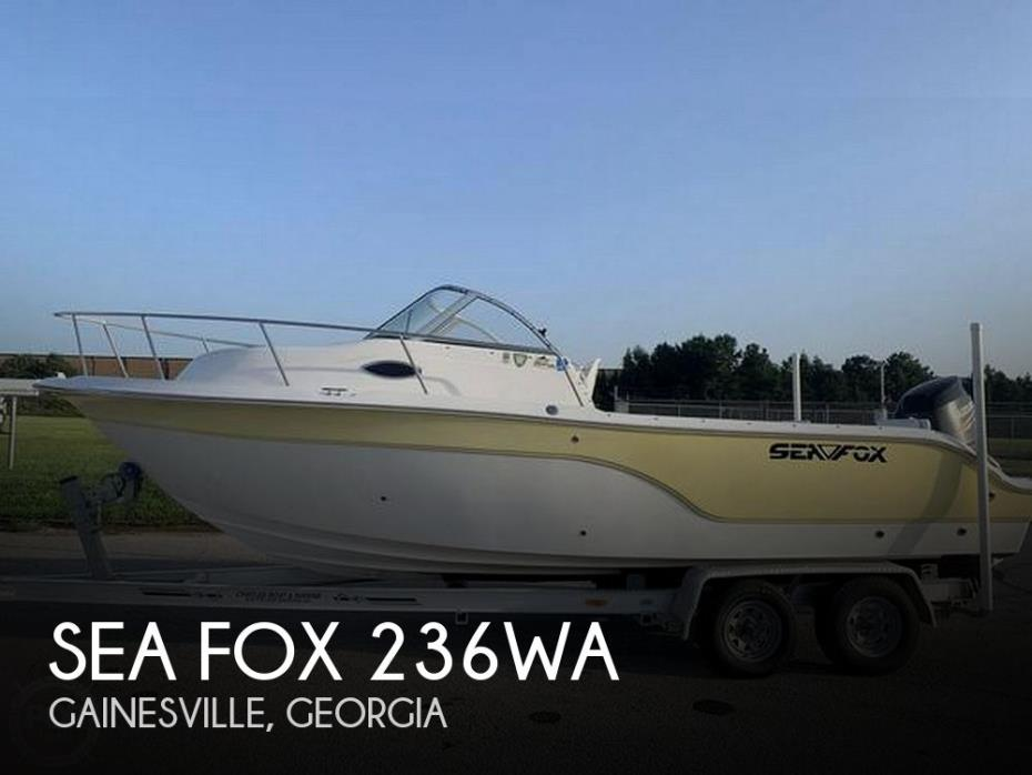 2006 Sea Fox 236WA