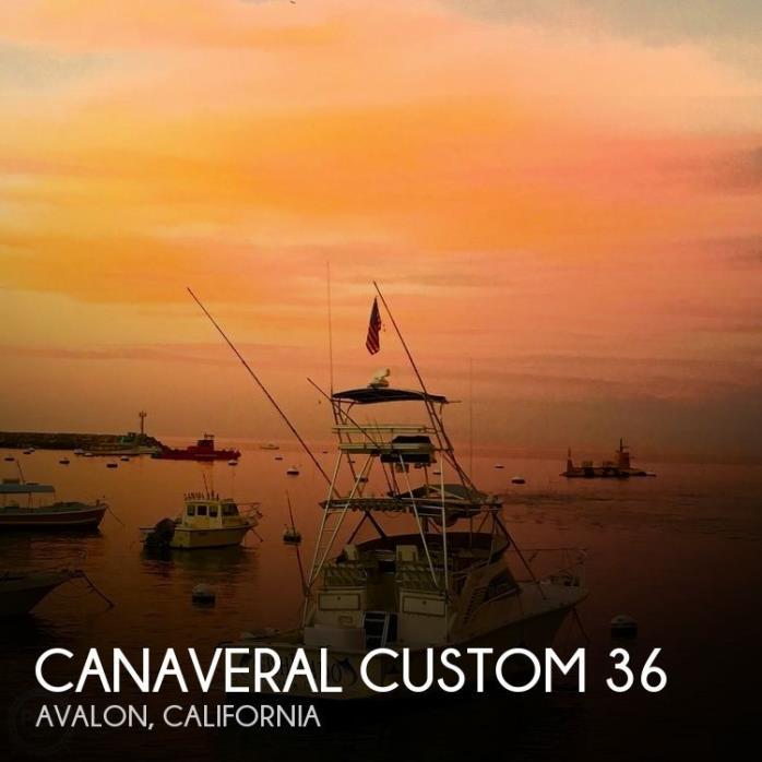 1998 Canaveral Custom Boats Inc 36 SFX