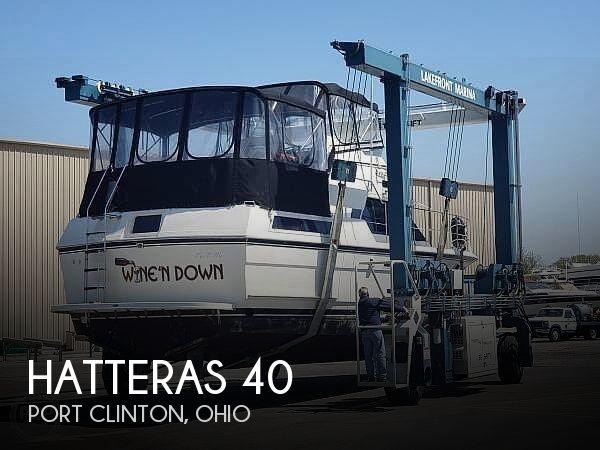 1988 Hatteras 40