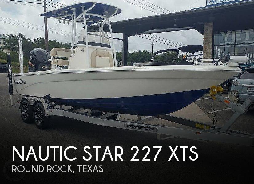 2018 Nautic Star 227 XTS