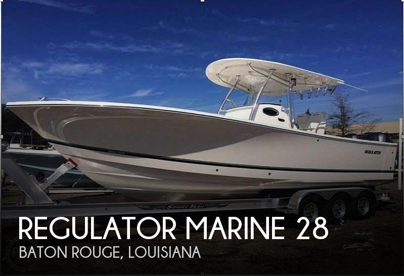 2016 Regulator Marine 28