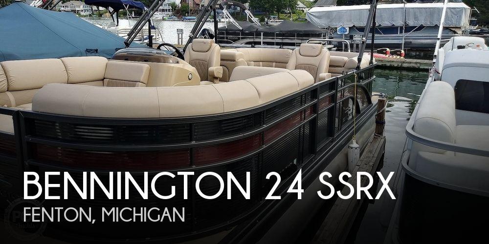 2017 Bennington 24 SSRX