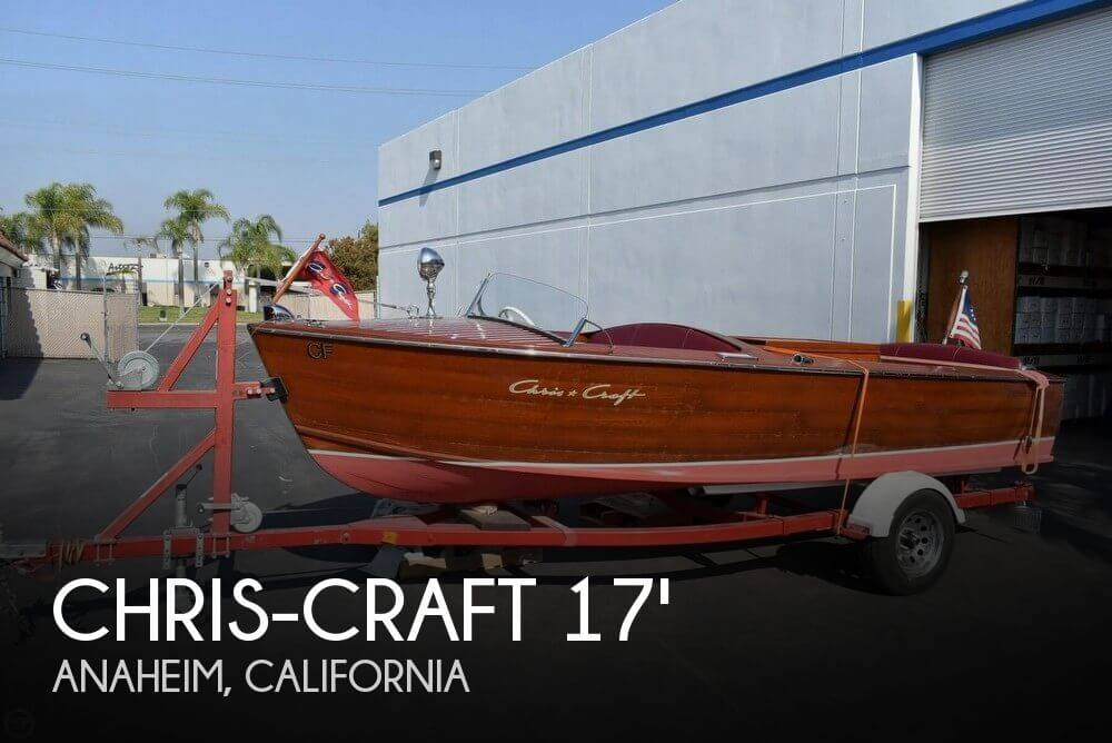 1954 Chris-Craft 17 Sport Utility