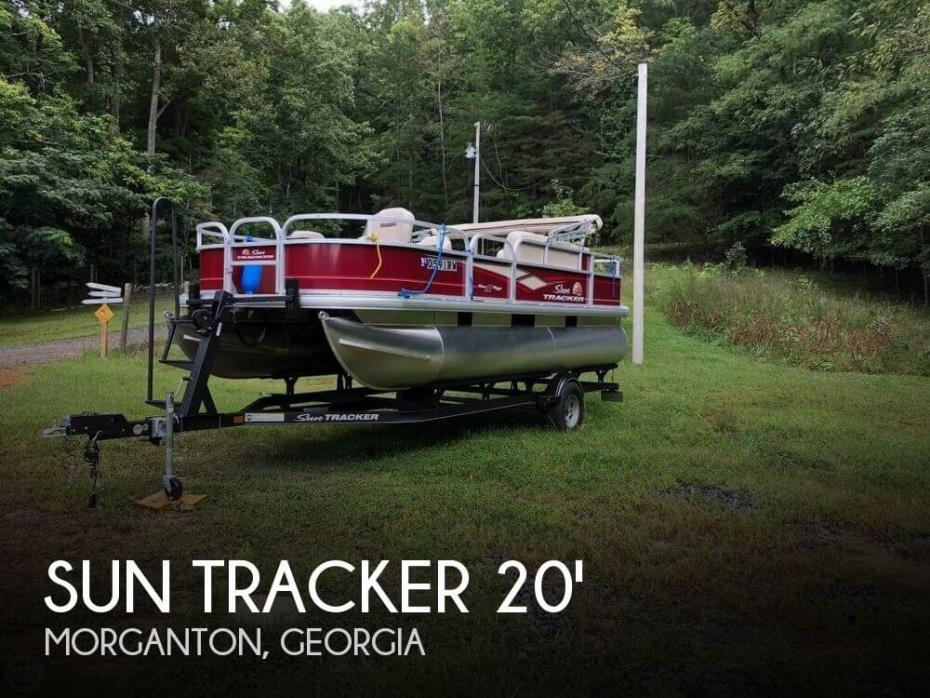 2018 Sun Tracker 20 Bass Buggy DLX
