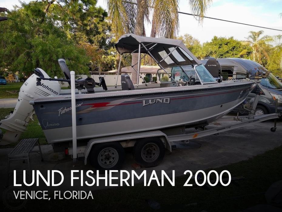 2004 Lund Fisherman 2000
