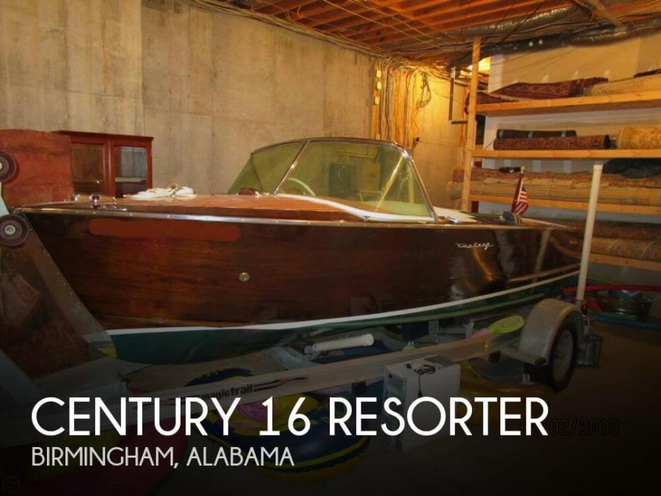 1958 Century 16 Resorter