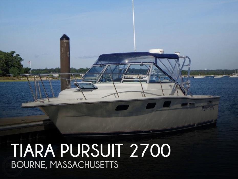 1984 Tiara Pursuit 2700