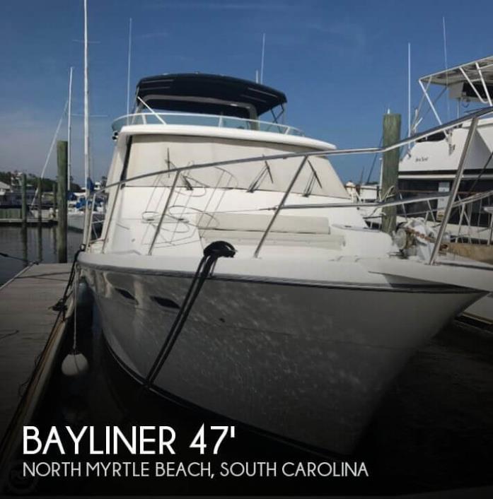 1997 Bayliner 4788 Pilot House Motor Yacht