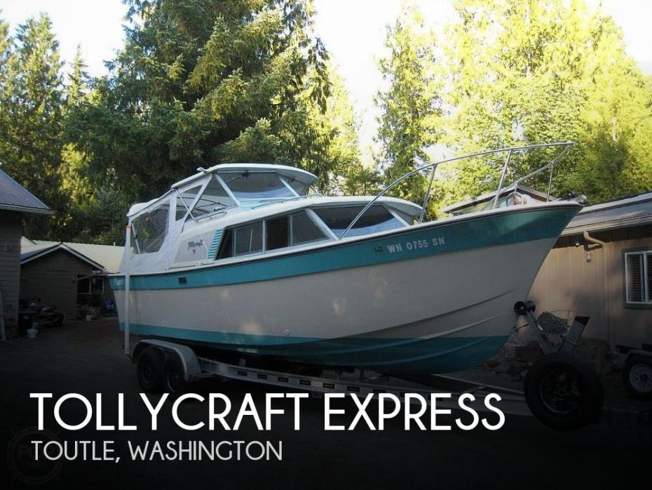 1967 Tollycraft Express